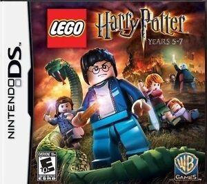 NINTENDO DS LEGO HARRY POTTER YEARS 5-7 SEALED