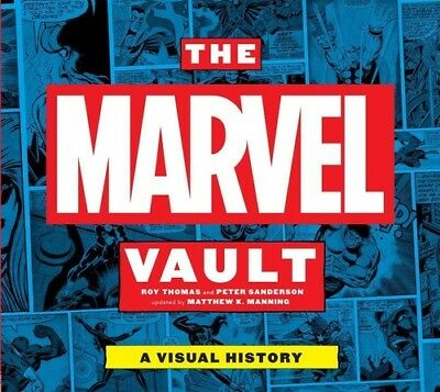 Marvel History - The Marvel Vault: A Visual History (Marvel) [New Book] Graphic Novel, Hardcove