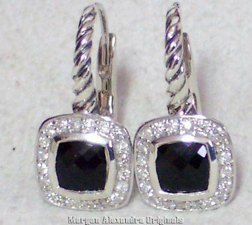 David Yurman Onyx Earrings Ebay