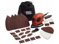 Black and Decker Mouse Detail Sander with Accessories - 55W - Brand NEW boxed Cost £29.99 from Argos