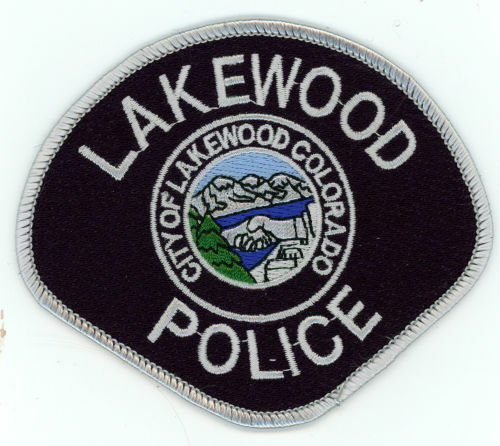 LAKEWOOD POLICE COLORADO CO NICE COLORFUL PATCH SHERIFF