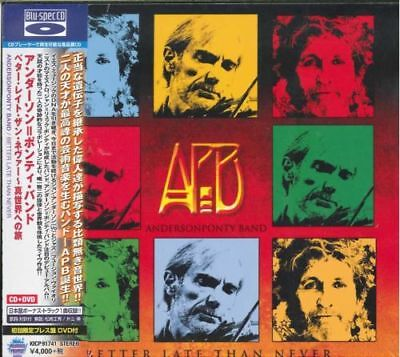 ANDERSON PONTY BAND-BETTER...-JAPAN BLU-SPEC CD2+DVD BONUS TRACK Ltd/Ed