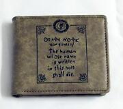 Death Note Wallet