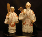 Red Antique Japanese Statues