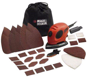 New black n decker sander