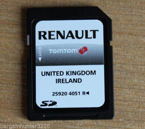 renault tomtom ebay. Black Bedroom Furniture Sets. Home Design Ideas