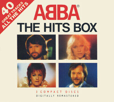 ABBA ‎– The Hits Box (1990) Pickwick Music 3 CD Box NEW sealed UK