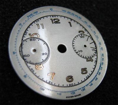 Kyпить Vintage Men's Landeron Chronograph silver and gold watch dial на еВаy.соm