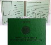 Polizei Ausweis