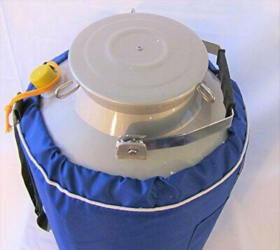 20l Liquid Nitrogen Ln2 Storage Tank Container Cryo Dewar Wide 5 Mouth Neck New