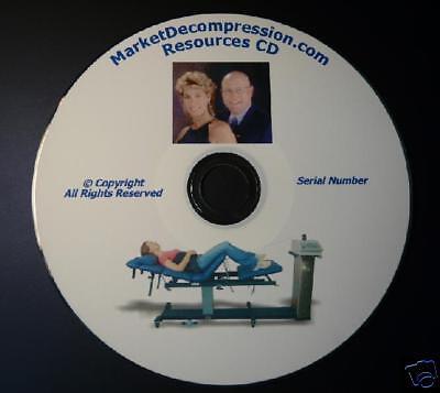 Spinal Decompression Marketing Website Brochures