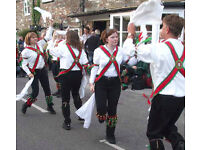 Learn how to morris dance with Pigsty Morris 30Sep and 7Oct2016