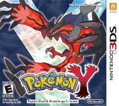 NINTENDO 3DS POKEMON Y BRAND NEW FREE FIRST CLASS SHIPPING USA