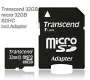 Micro SDHC 32GB Class 10