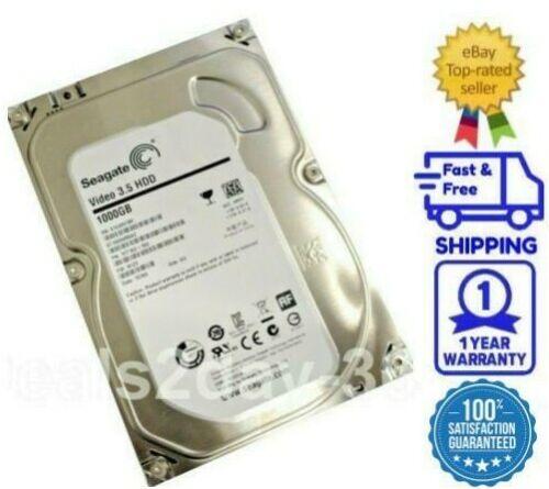 """Seagate ST1000VM002 1TB 64MB SATA6Gb/s 3.5"""" (Low Power) Hard Drive -PC, CCTV DVR"""