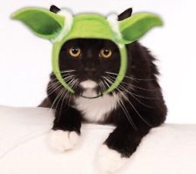 Star Wars YODA Ears/Headpiece  CAT/Small DOG  **Great Pet Gift**