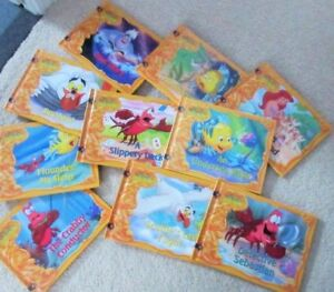 ~~ The LITTLE MERMAID TREASURE CHEST ~~ book collection