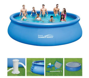 Summer Waves 18ft inflatable Pool