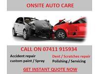 Accident CAR repair / Bodywork / Respray