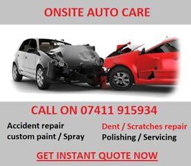 CAR Accident repair / Bodywork / Respray