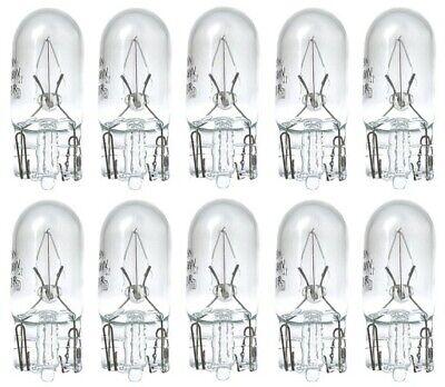 10X W5W 5W T10 12V W2.1x9,5d Glüh Lampe Birne Glassockel Standlicht Auto KFZ PKW