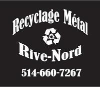 Recyclage Métal Rive-Nord (cueillette des métaux)