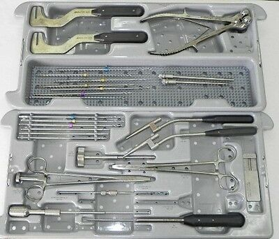 Depuy Acromed Ventral Cervical Stabilization Instrument System With Trays