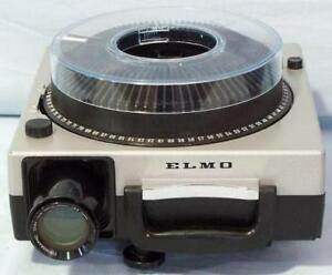 Elmo Omnigraphic 300 slide projectors + lenses