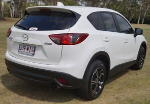 2013 Mazda CX-5 KE1031 MY14 Maxx SKYACTIV-Drive AWD Sport White 6 Speed Sports Automatic Wagon Bundaberg West Bundaberg City Preview
