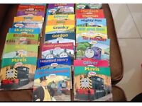 Over 50 Thomas tank engine books