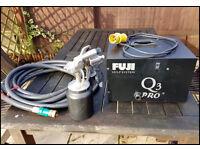 Fuji Q3 pro HVLP paint spraying kit 110 volt