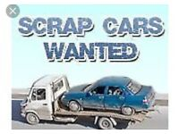 Simon's free Collection service Scrap cars wonted