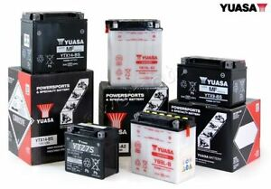 Cooper's is sell Yuasa batteries for all makes and models.
