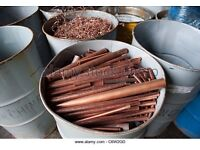 Free Scrap metal removing And buying Copper pipes And brass