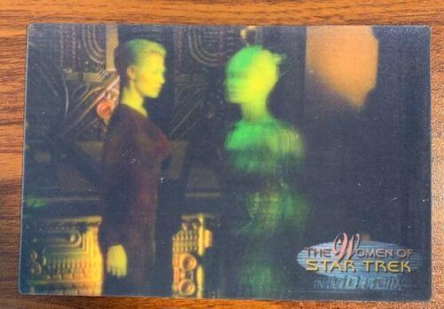 2000 Rittenhouse Women of Star Trek in Motion #3 Borg Queen Free Shipping