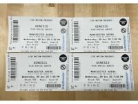 Genesis Concert Tickets - Manchester Arena - 25.9.2021