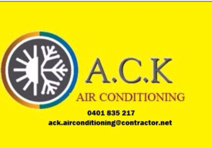 Air conditioning installer/service/repair/sales  Blacktown Blacktown Area Preview