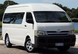 2005 Toyota Hiace TRH223R Commuter High Roof Super LWB White 5 Speed Manual Bus Glendalough Stirling Area Preview