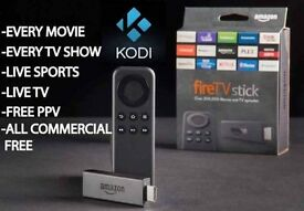 Amazon firestick with kodi