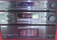 SONY POWER AMP - PRE-AMP - AND TUNER SET