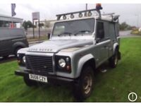 Wanted Land Rover defender 90 or 110 any year or condition top cash prices paid