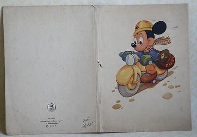 Micky Mouse Briefpapier 10 Briefblätter Disney-Figuren