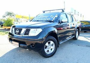 2008 Nissan Navara D40 ST-X Black 5 Speed Automatic Utility Woodridge Logan Area Preview