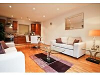 SPACIOUS BRIGHT 2 BED APARTMENT IN WAREHOUSE CONVERSION - ALDGATE