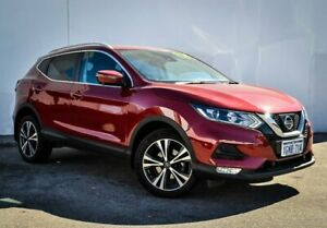 2018 Nissan Qashqai J11 Series 2 ST-L X-tronic Red 1 Speed Constant Variable Wagon