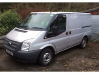 Immaculate Ford Transit Silver
