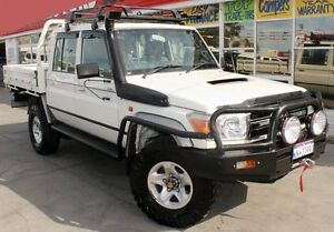 2013 Toyota Landcruiser VDJ79R MY12 Update GXL (4x4) 5 Speed Manual DOUBLE CCHAS Cannington Canning Area Preview
