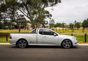 2010 Ford Falcon FG XR6 Ute Super Cab Turbo Silver 6 Speed Sports Automatic Utility
