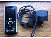 LG A140 - Black & Silver (on T-mobile network) Mobile Phone