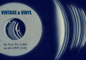 WOW! 1000's! of USED VINTAGE RECORDS! A few Turntables as well! London Ontario image 3